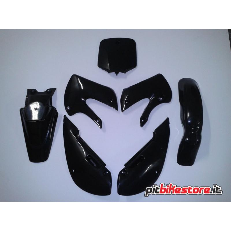 KLX BLACK SET PLASTICS