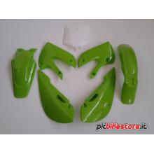 KLX GREEN SET PLASTICS