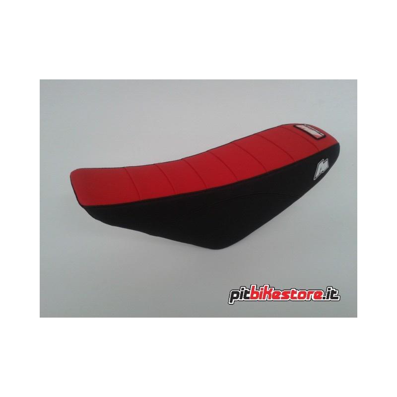 sella crf70 rosso/nero