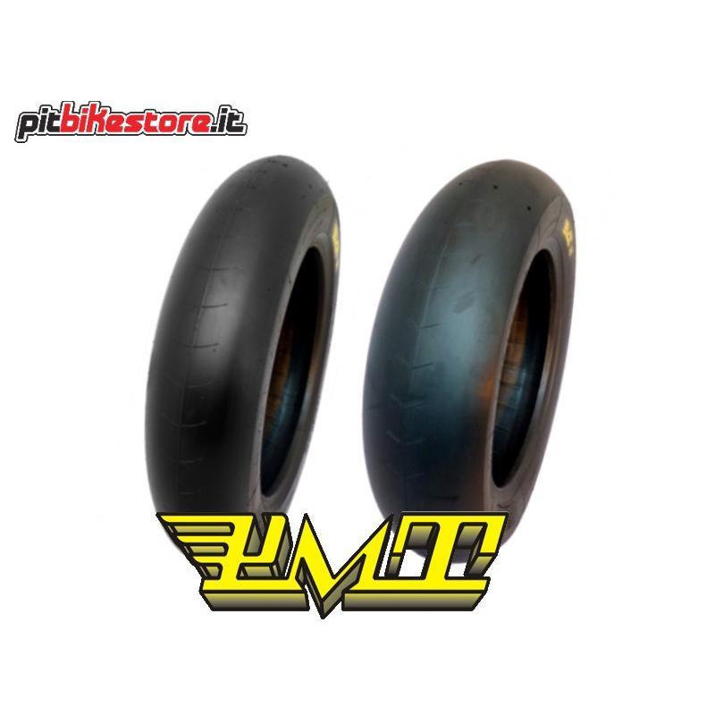 PMT SLICK TYRES 100/90-12 SS + 120/80-12 S