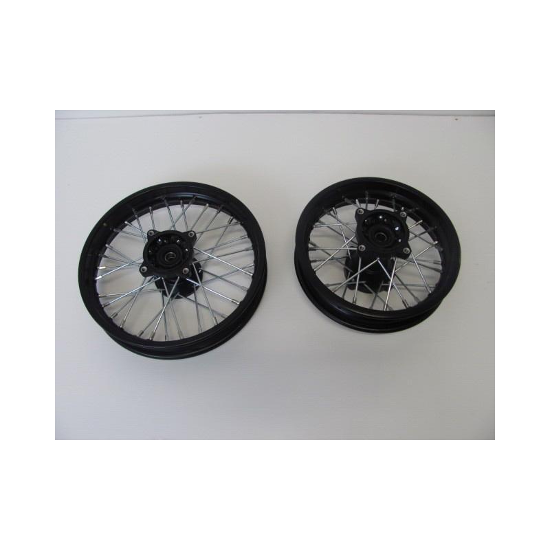 set cerchi pit bike 12/10
