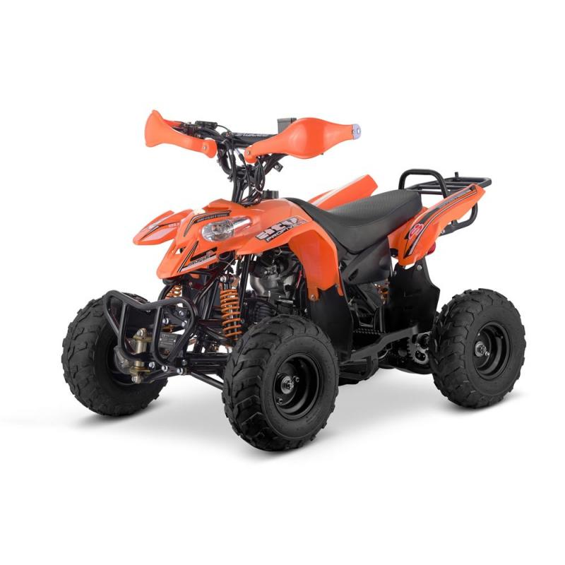 SET PLASTICHE ORANGE ATV 70