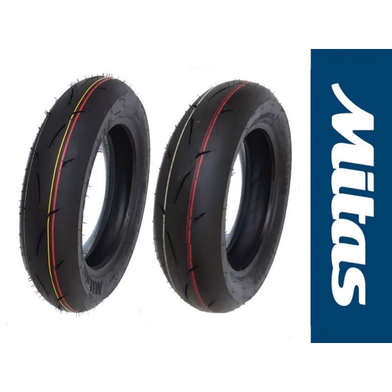 SET MITAS MC35 100/90-12 S + 120/80-12 S