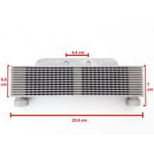 radiatore olio lamellare in alluminio
