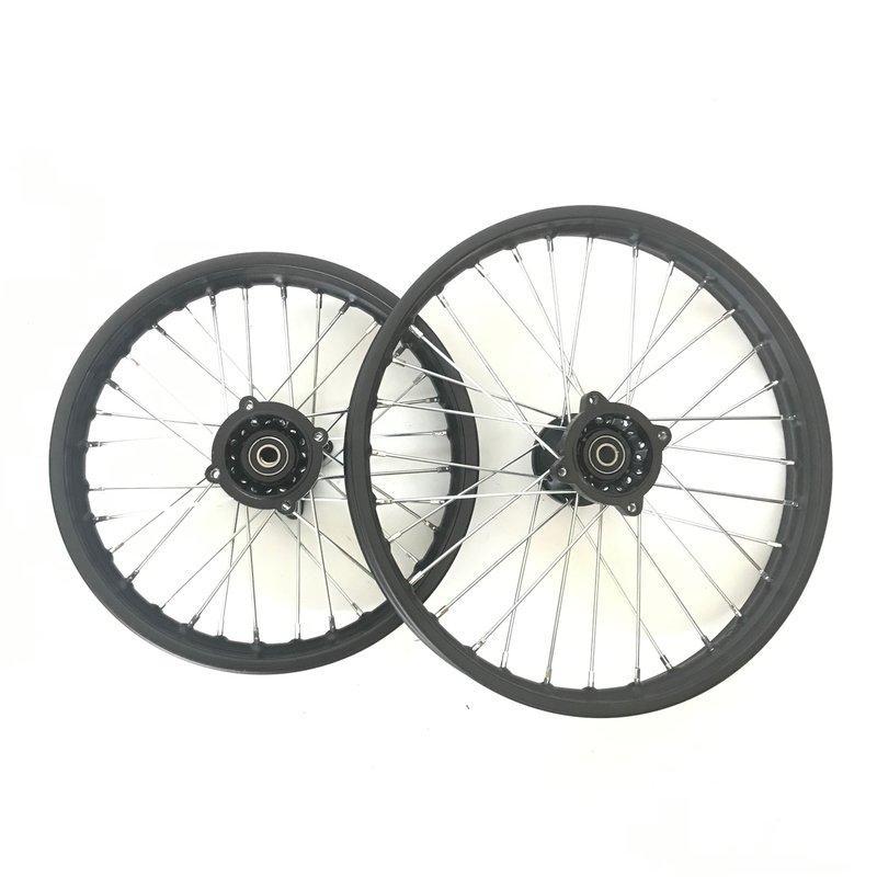 """set 14""""/12"""" pit bike rims"""