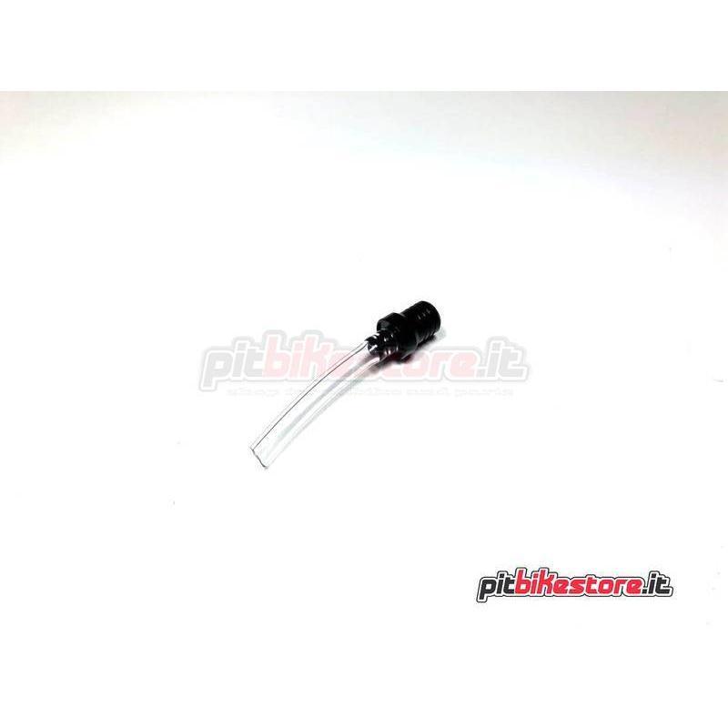 FUEL CAP BREATHER PIPE - BLACK
