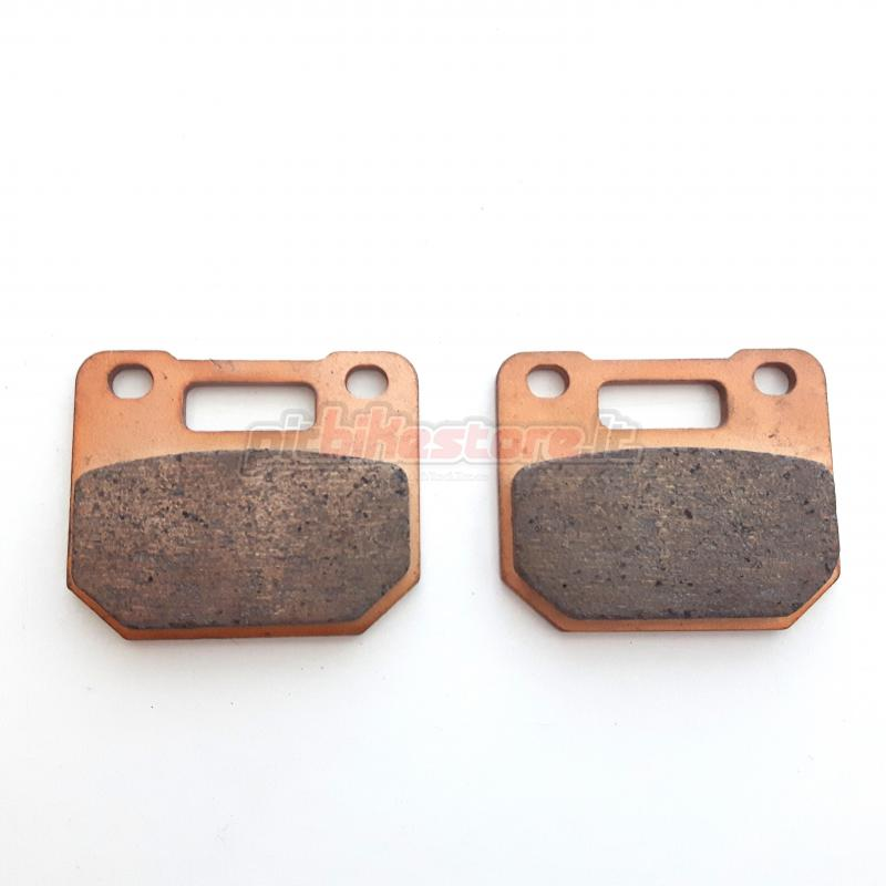 4 piston radial brake pads sintered