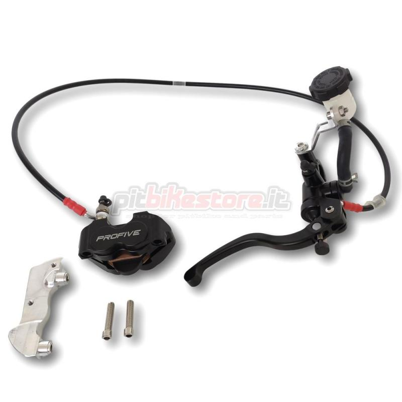 pit bike front radial brake system