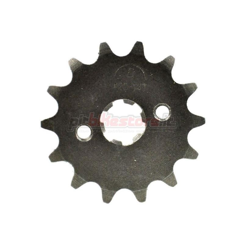 PIT BIKE 14T 420 FRONT SPROCKET