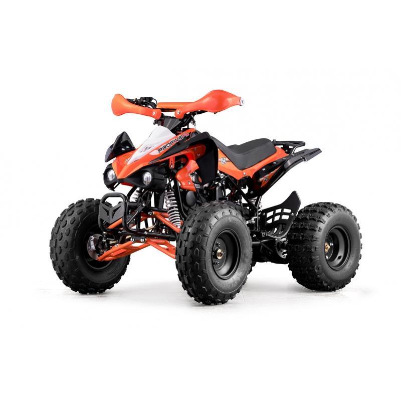 ATV 125 ORANGE PLASTICS SET