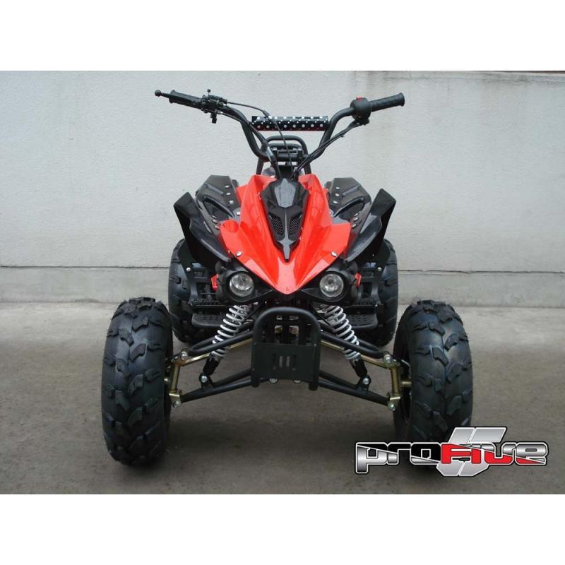 SET PLASTICHE ATV 125 ROSSO